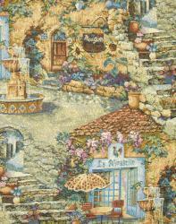 Гобелен, покрывало, Райский сад, гобеленовая ткань,  покрывало