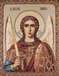 картина, гобелен, икона, Святой Архангел-Михаил