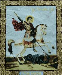 картина, гобелен, икона, Георгий Победоносец