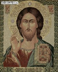 картина, гобелен, икона, Спаситель