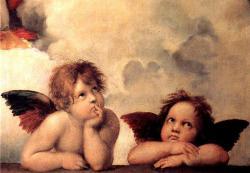 Гобелен, картина, Ангелы. Рафаэль, магазин гобеленов