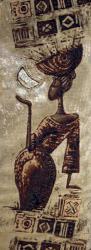 картина, гобелен, девушка, африка, Арабика