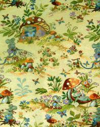 Гобелен, покрывало, Веселые мышки, гобеленовая ткань, детское покрывало