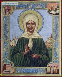 картина, гобелен, икона, Св. Матрона Московская