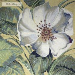 картина, гобелен, цветы, букет, натюрморт, Белоснежка