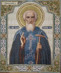 картина, гобелен, икона, Св.Сергий Радонежский