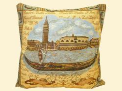 Гобелен, наволочка, Венеция, магазин гобеленов